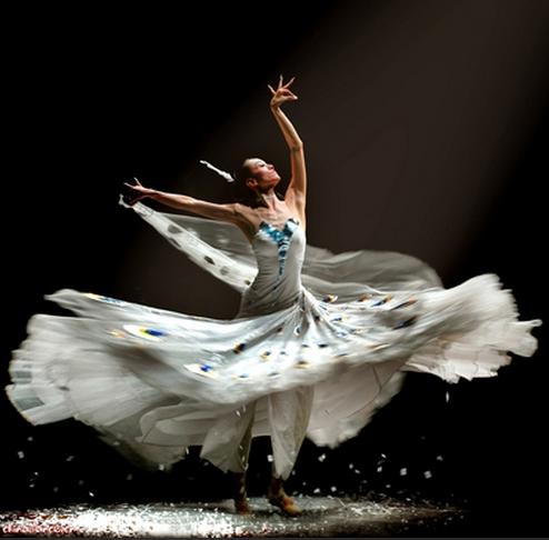 民族舞蹈转圈动作技巧图片